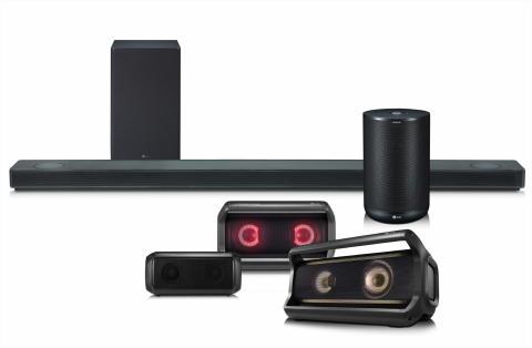 LG:s nya högtalare för 2018 kommer med premiumljud, användarvänlighet och smarta funktioner