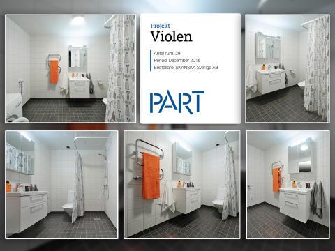 I fabriken just nu: referensrum Violen – 1 av 29 rum