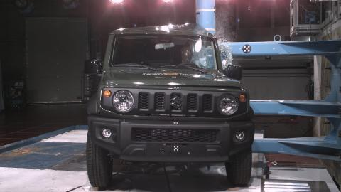 Three-star Euro NCAP rated Suzuki Jimny falls short on safety