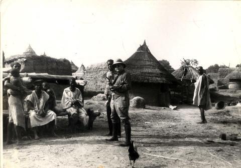 Carl Kjersmeier i Afrika