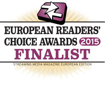 Xstream is finalist in 4 categories for the Streaming Media Readers Choice Award 2015