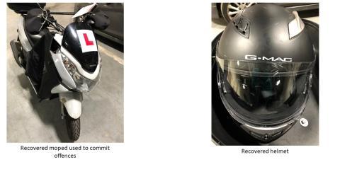 4. Recovererd moped and helmet jpeg