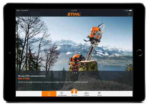 Ny app fra STIHL