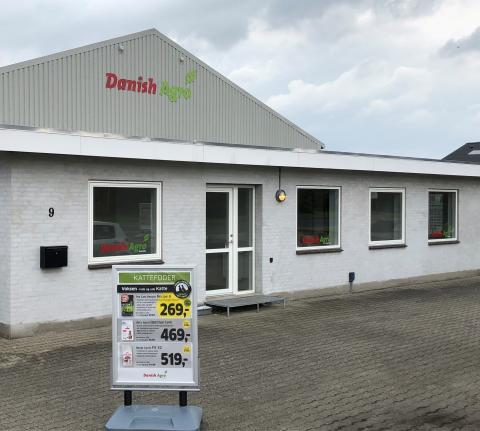 Grovvarekoncernen Danish Agro åbner ny butik i Nyborg