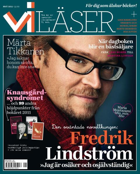 I Vi Läser nr 6 2011: Lindström, Tikkanen och Montazami.