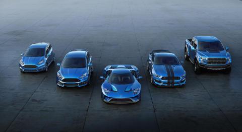 Ford med doblet salg av høyytelsesbiler - Lanserer 12 nye modeller