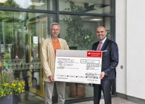 Santander_Spende Paul Aldinger Schule