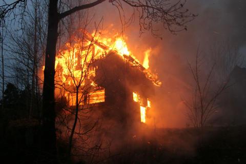 1200 hyttebranner hvert år i Norge