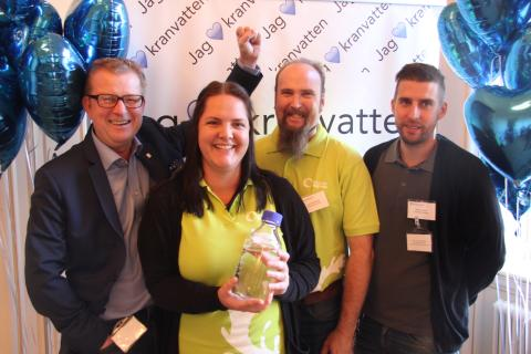 Älvkarleby finalister i Kranvattentävlingen 2015