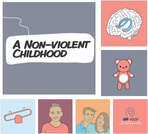Non-Violent Childhoods serietidning