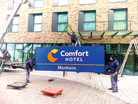 Neues Comfort Logo: Rollout startet in Zentraleuropa am Rhein
