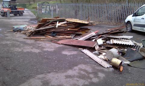 Call for help to identify fly-tippers