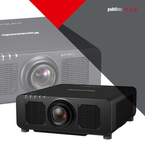 Marktneuheit PT-RZ120 von Panasonic jetzt bei publitec verfügbar
