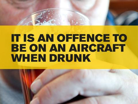Increase in drunken and disruptive passengers halted in latest airport operation