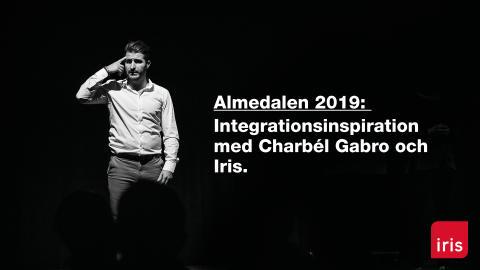 Iris bjuder in till integrationsinspiration med Charbél Gabro på Doublecheck Arena i Almedalen