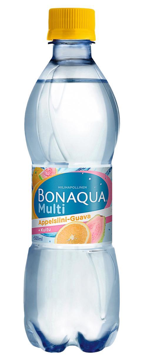 Syksyn uutuus: Bonaqua Multi Appelsiini-Guava