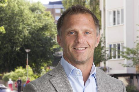 Lars Nylund - ny fastighetschef på Familjebostäder