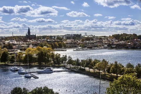 Skärgårdsstaden Västervik på smålandswebben
