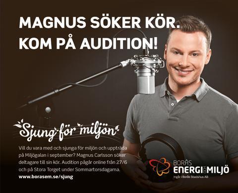 Sjung för miljön, audition pågår nu!