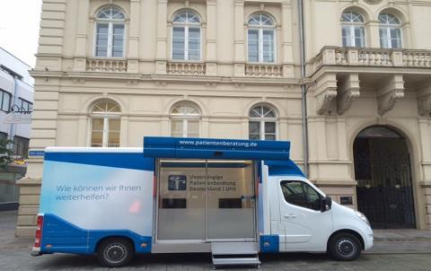 Beratungsmobil der Unabhängigen Patientenberatung kommt am 18. Februar nach Iserlohn.