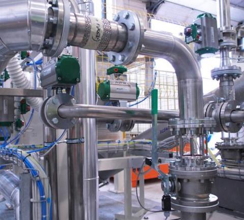 1Anlegget inneholder mye avansert prosessutstyr