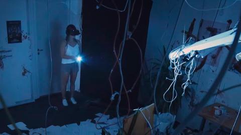 VR IRL för Lisebergs Halloweensatsning Zombie