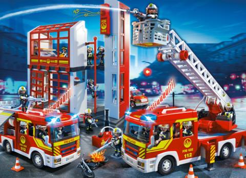 005 PLAYMOBIL Feuerwehr