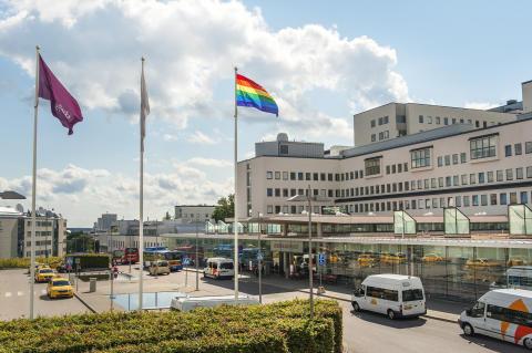 Rekordmånga från Södersjukhuset i årets Prideparad