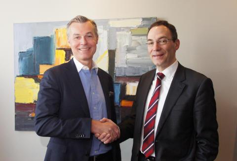 Crister Fritzson och Martin Lange