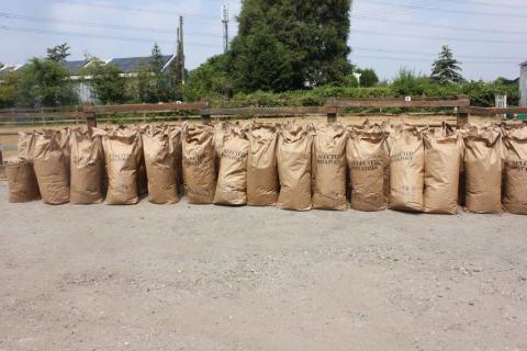 Tobacco hidden in potato sacks found at rented farm buildings in Warwickshire