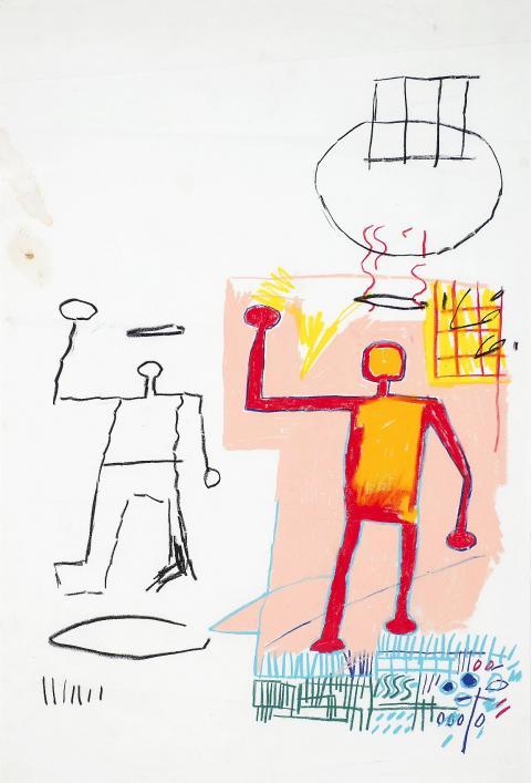 145. Jean-Michel Basquiat, Untitled