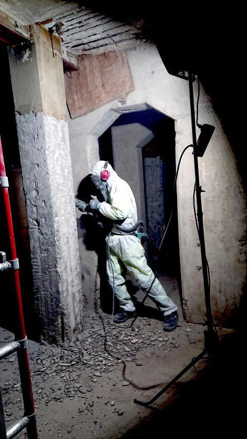 Sanering i Gasverket Norra Djurgårdsstaden