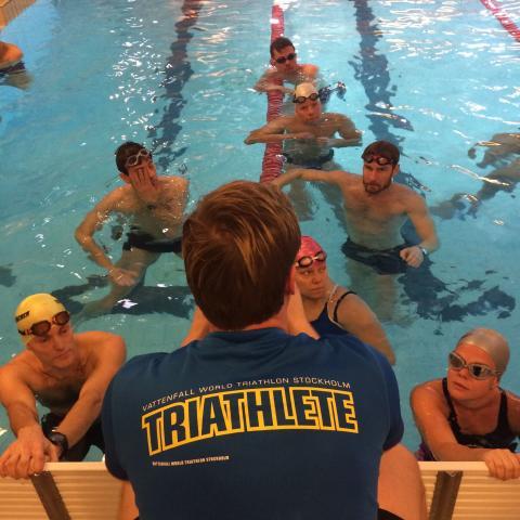 Gratis träningskvällar - fortsatt samarbete med Vattenfall World Triathlon Stockholm