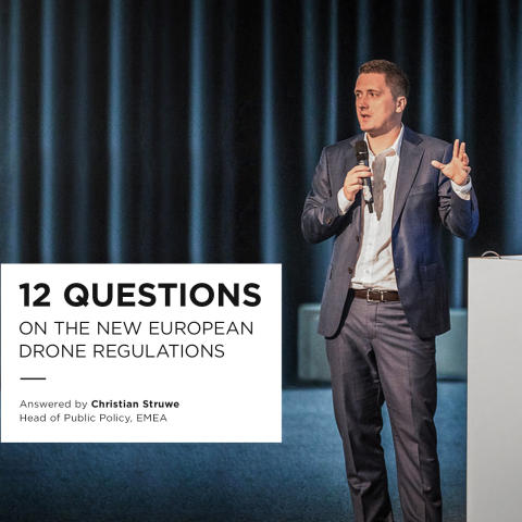 12 Questions On The New European Drone Regulations