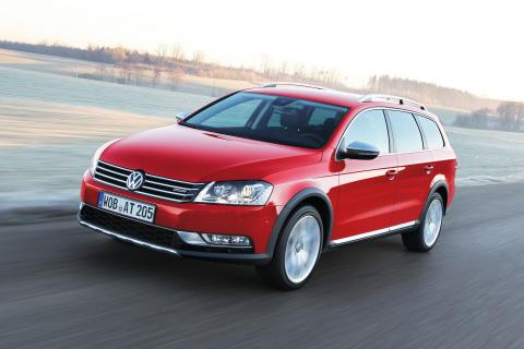 Fyrhjulsdrift en framgångsfaktor för Volkswagen