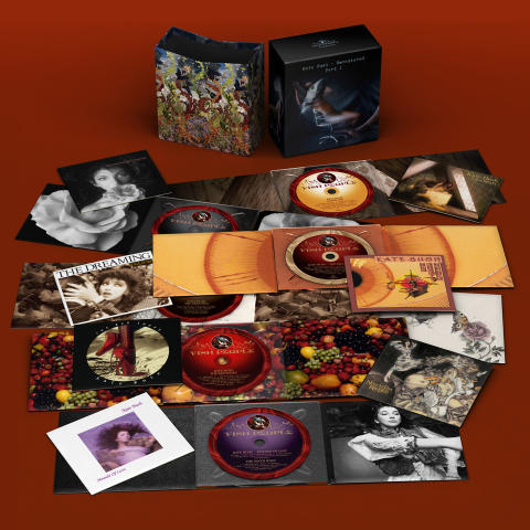 Kate Bush - remastered CD boks