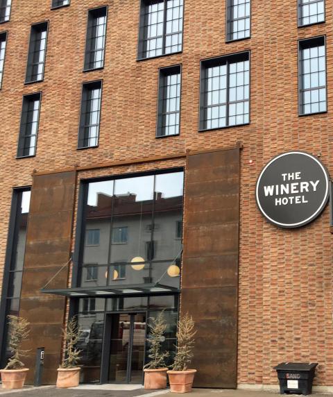 Entrén till The Winery Hotel