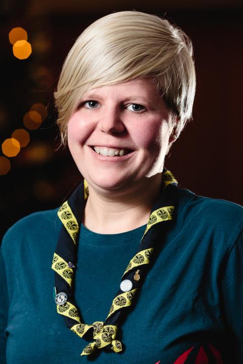 Scouternas ordförande Josefine Larsson är framtidens kvinnliga ledare