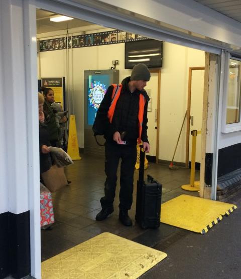 Open sesame at Elstree & Borehamwood station