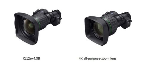 "Canon launches world's widest 2/3"" 4K portable  broadcast lens  – the CJ12ex4.3B"