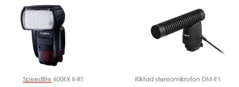 Canon skapar nya möjligheter med fler tillbehör för alla EOS-användare