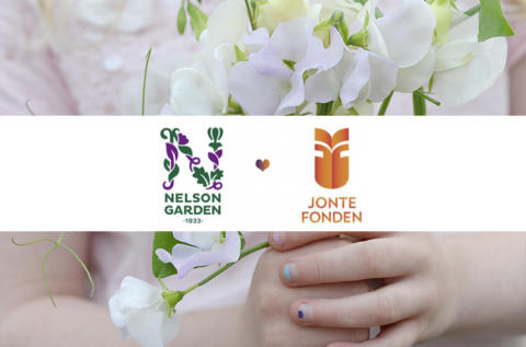 Nelson Garden ger till Jontefonden på Giving Tuesday