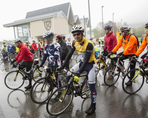 More than 170 cyclists take on Yorkshire Classic for SportsAid