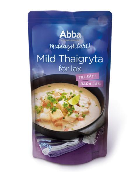 Abba Middagsklart Mild thaigryta för lax