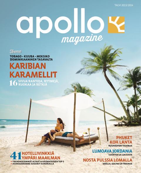 95% lukijoista piti uudesta Apollo Magazine -matkalehdestä