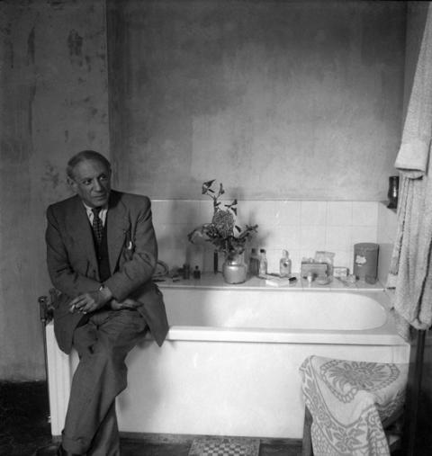 Pablo Picasso, rue des Grands Augustins, 1944. Foto: Cecil Beaton. ©The Cecil Beaton Studio Archive at Sotheby's
