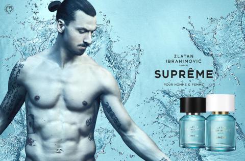 Nu lanseras Zlatan Ibrahimović Parfums nyhet SUPRÊME POUR HOMME och SUPRÊME POUR FEMME