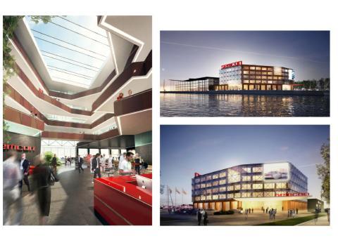 Första spadtag för Semcons huvudkontor på Lindholmen