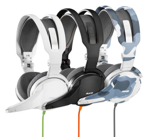 AKG GHS 1 Headset Offers Sound for the Ultimate Gaming Experience