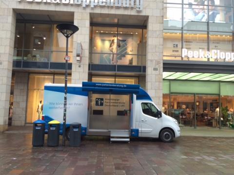 Beratungsmobil der Unabhängigen Patientenberatung kommt am 8. November nach Paderborn.